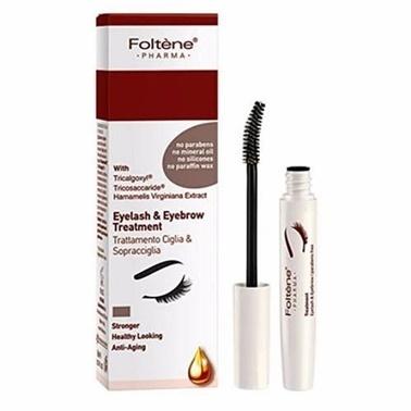 Foltene FOLTENE PHARMA Eyelash & Eyebrow Treatment 8 ml - Kaş ve Kirpik Bakım Ürünü Siyah